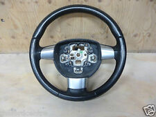 FORD FOCUS LEATHER 3 SPOKE STEERING WHEEL INC CHROME INSERTS 2005 2006 - 2011
