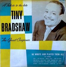 TINY BRADSHAW - THE GREAT COMPOSER - SING / OFFICIAL LP - EEC PRESSING - 1989