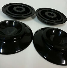 """STEINBACH 4"""" black plastic Piano Caster Cups by free shipping to worldwide"""