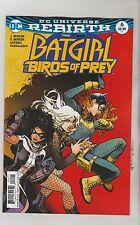DC COMICS BATGIRL & THE BIRDS OF PREY #6 MARCH 2017 REBIRTH VARIANT 1ST PRINT NM