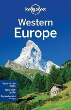Lonely Planet Western Europe (Travel Guide)-ExLibrary