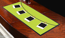 HANGING POLAROIDS GREEN BAR RUNNER IDEAL FOR ANY OCCASION PARTYS PUB CLUBS SHOPS