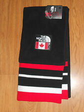 The North Face Sochi Village Mountain Scarf Team Canada TNF Black New