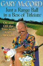 Just a Range Ball in a Box of Titleists, Gary McCord, Good Book