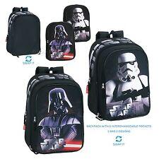 OFFICIAL Star Wars Backpack Rucksack Travel Luggage Bag 2 Front Pocket SWAP IT