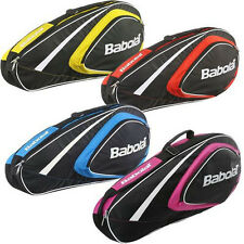 BABOLAT CLUBLINE 3 RACKET TENNIS BAG YELLOW , ALSO  FOR TRAVEL OR PADEL squash