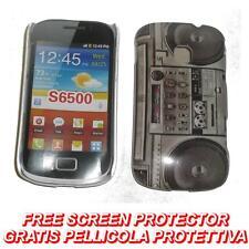Pellicola+custodia BACK cover IMD STEREO per Samsung Galaxy mini 2 S6500
