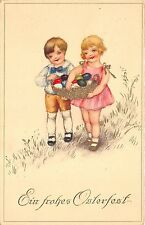 BG14577 children with  eggs ostern easter germany