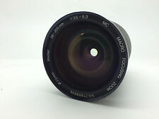 VIVITAR 28-200mm 1:3. 5-5.3 objectif photo nikon mount