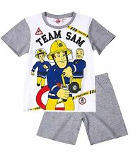 Boys Pyjamas Short Sleeve T-Shirt Shorts Set New Official 2017 Age 2-12 Years