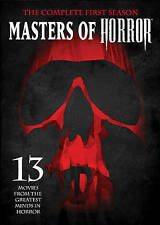 Masters Of Horror Sn1 New DVD! Ships Fast!
