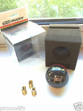 Mugen Stile Fibra di Carbonio 5 SPEED 5MT GEAR SHIFT KNOB Red Stripe Dc5 Tipo R S2000