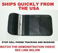 iPhone Size Pouch GPS,RFID,Signal Blocker,Prevent / Stop Tracking and Spying