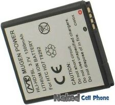 NEW MUGEN 1300mAh SLIM EXTENDED BATTERY FOR TMOBILE HTC HD7 PHONE