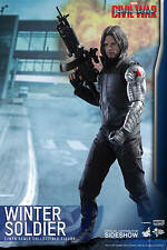 "12"" Winter Soldier 902656 Hot Toys Sixth Scale Figure Captain America Civil War"