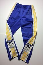 ADIDAS rare trousers vintage retro oldschool 80s 90s pants 3 stripes poppers 28""