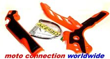 Acerbis Frame Guards KTM 125/250/300/350/450  XC EXC EXCF 12-15 Orange