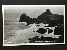 Vintage Postcard - Cornwall #29 - RP Kynance Cove, The Lizard - Pen Pol Cards