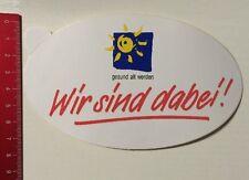 Aufkleber/Sticker: Gesund Alt Werden - Wir Sind Dabei (17041668)
