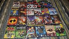 HUGE NINTENDO GAMECUBE VIDEO GAME LOT 36 GAME LOT MARIO RESIDENT EVIL AND MORE
