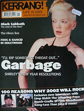 KERRANG 885 - GARBAGE/BLOODHOUND GANG/THE  HIVES/AMERICAN HEAD CHARGE/ANTHRAX