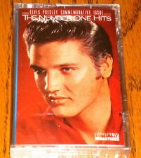 ELVIS THE NUMBER ONE HITS ORIGINAL CASSETTE SEALED!  1988