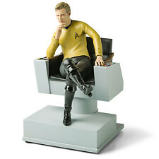 STAR TREK TOS 50th Ann PX Exclusive Captain James T KIRK BOOKEND Statue LTD 600
