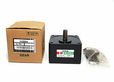 1 Reduction Gear 5GN Series ratio=50:1~180:1 for AC Induction Gear Motor 5IK25GN