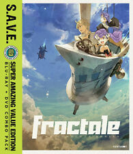 Fractale: The Complete Series - S.A.V.E. (2016, Blu-ray NEUF)4 DISC SET