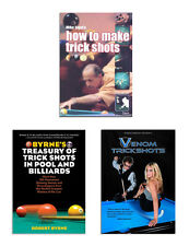 Pool and Billiards Trick Shots Book and DVDs - Free Shipping