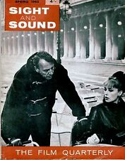 SS62-31-2 SIGHT AND SOUND 1962 Jeanne Moreau SATYAJIT RAY UK MAGAZINE