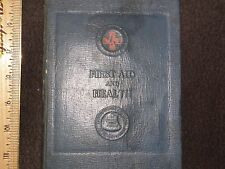SOUTHWESTERN BELL TELEPHONE   RED CROSS  FIRST AID BOOK- CIVIL DEFENSE ARMBAND