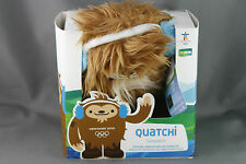 Vancouver 2010 Olympics Quatchi Mascot Plush New in Box 7.5 Inch