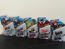 Hot Wheels 2014 Marvel LOT of 10 1:64 Avengers HULK SPIDERMAN HAWKEYE ULTRON LOT
