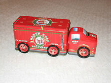 Christmas North Pole Delivery Tin Semi Truck, TOY with wheels MINT