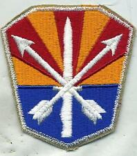 US Army Arizona National Guard Color Patch Cut Edge