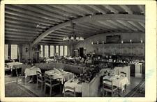 Zürich Schweiz Postkarte 1962 gelaufen Inneres der Gaststätte zum Rüden Tresen