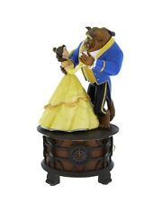 DISNEY PARKS BEAUTY AND THE BEAST MUSIC BOX TALE AS OLD AS TIME GIFT NIB
