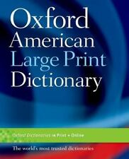 Oxford American Large Print Dictionary-ExLibrary