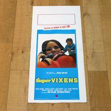 SUPERVIXENS locandina poster affiche Charles Napier Shari Eubank Russ Meyer AG37