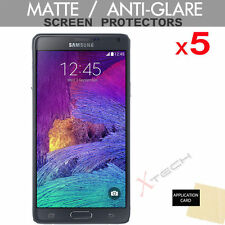 5x Hq Mate Anti Glare Screen Protector Tapa Protector Para Samsung Galaxy Note 4