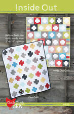 Inside Out Quilt Pattern Cluck Cluck Sew #130 Uses Charms or Layer Cake