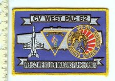 Military Patch USN CV West Pac 62 VFA-192 Drago F/A-18