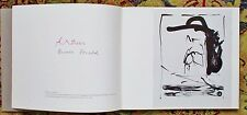 ROBERT MOTHERWELL : APROPOS Exhibit Catalog SIGNED by the ARTIST & HIS WIFE 1981