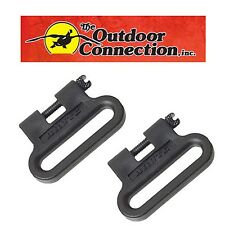 "MOSSBERG 500 SHOTGUN BRUTE POLYMER SLING SWIVEL SET 1"" ***MADE IN U.S.A.***"