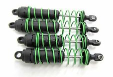 Skully/Craniac SHOCKS w/ GREEN springs (set of 4 dampers & Coils Traxxas 36064-1