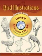 Bird Illustrations CD-ROM and Book Dover Electronic Clip Art