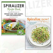 Spiralizer Recipes for Healthy Life Collection Weight Loss,Anti-Aging 2 Book Set