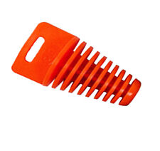 Orange Motor Dirt Bike Muffler Exhaust Plug Silencer Wash Plug Pipe 25mm X 45mm