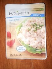 Nutrisystem Tuna salad LOT OF 6 LUNCH pouches